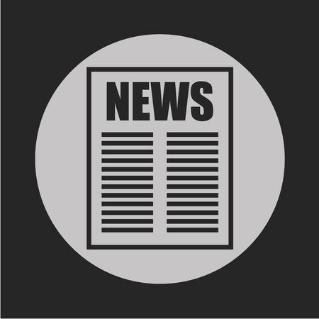 breaking: news breaking design  Illustration