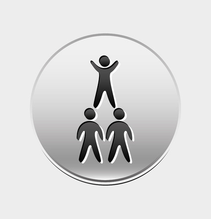 guy standing: business people design