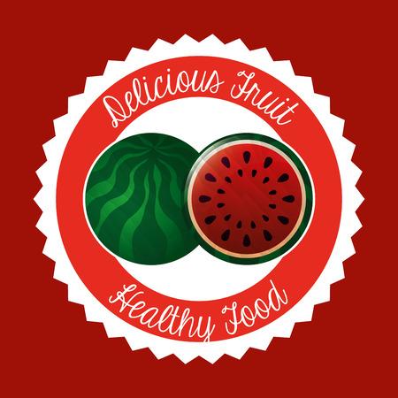 delicious: delicious fruit design,