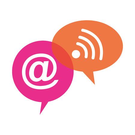 Social-Media-Design Illustration