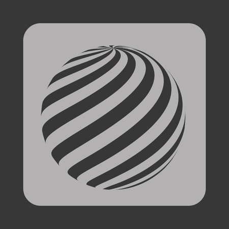 sphere icon: sphere icon design, vector illustration eps10 graphic