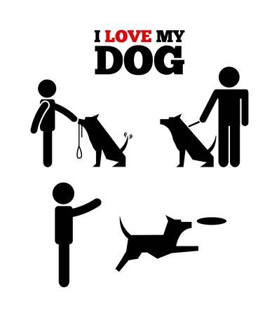 domestic animals: domestic animals design, vector illustration eps10 graphic