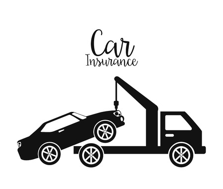 seguros autos: dise�o de seguro de autom�vil, ilustraci�n vectorial gr�fico