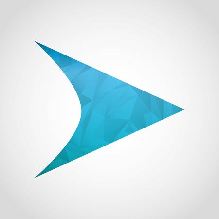 designator: icono de la flecha de dise�o, ilustraci�n vectorial gr�fico
