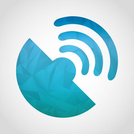 antena: gps technology design, vector illustration graphic Illustration