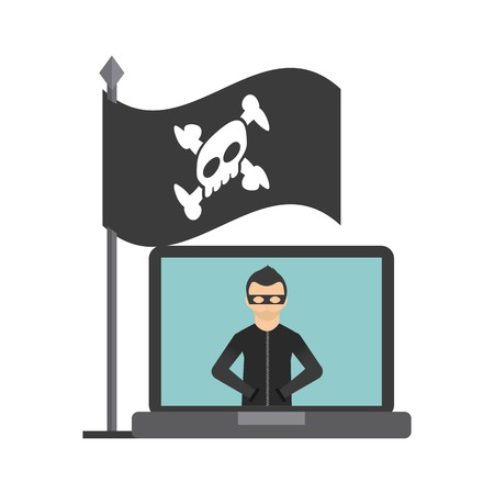 cyber security: cyber security design, vector illustration graphic Illustration