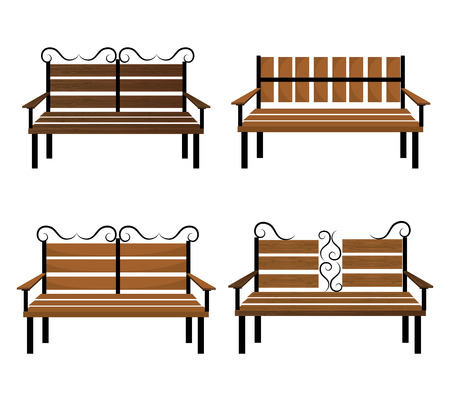 wooden chair: Wooden chair design, vector illustration eps 10. Illustration