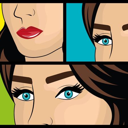 eps vector art: Pop art design, vector illustration eps 10. Illustration