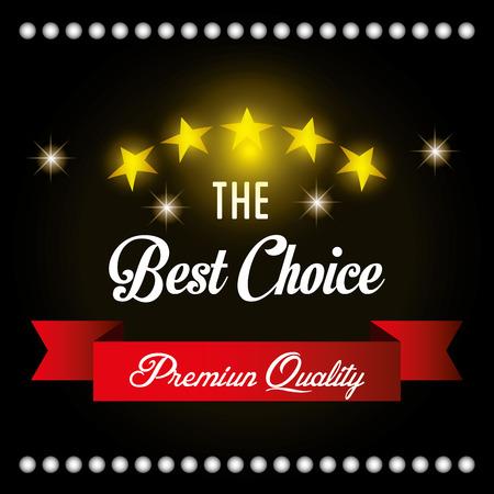 premium member: Premium quality label design, vector illustration eps 10.