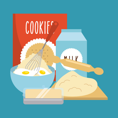 pleasing: homemade delights design, vector illustration eps10 graphic