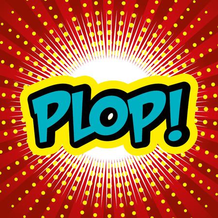 suprise: Pop art design, vector illustration eps 10. Illustration