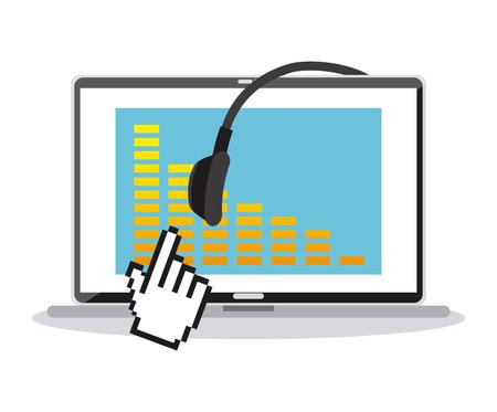 equaliser: music lifestyle design, vector illustration eps10 graphic