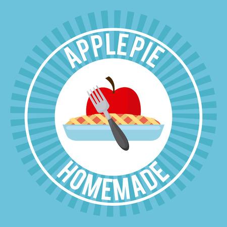 homemade: homemade delights design, vector illustration eps10 graphic