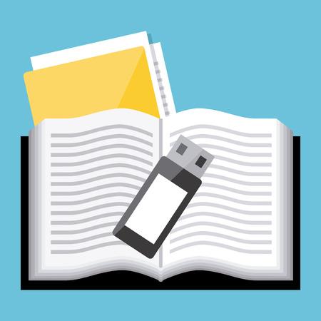 read magazine: ebook icon design, vector illustration eps10 graphic