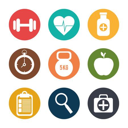 healthcare: Medical digital design, vector illustration eps 10.