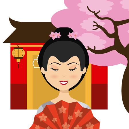 japanese culture design, vector illustration eps10 graphic