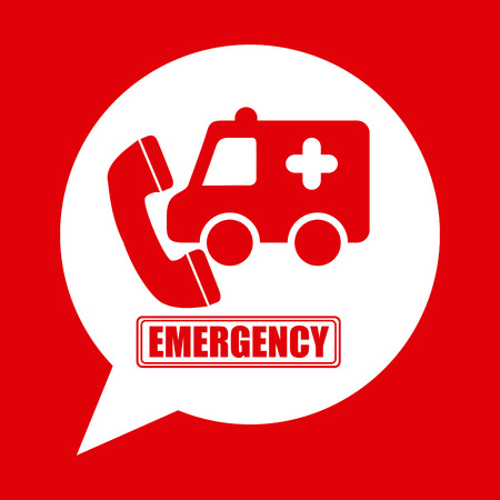 responders: emergency concept design, vector illustration eps10 graphic