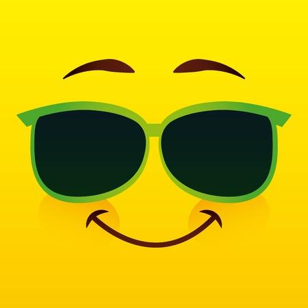 eps10: emoticon icon design, vector illustration eps10 graphic