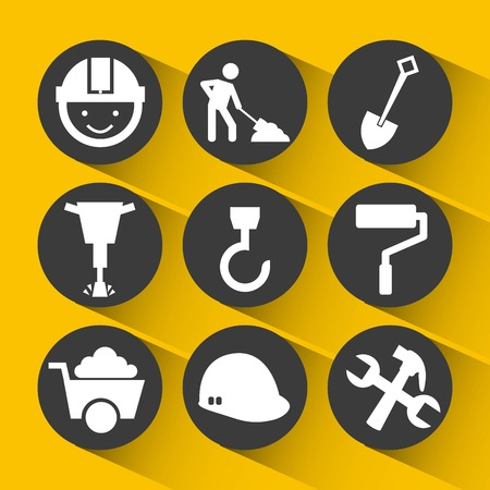 construction icons: construction icons design, vector illustration eps10 graphic