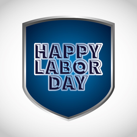 national freedom day: labor day design, vector illustration eps10 graphic Illustration