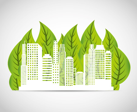 green building: ecology icon design, vector illustration eps10 graphic