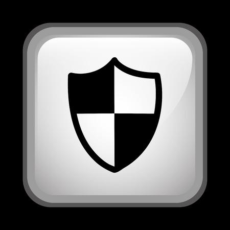 seguridad industrial: diseño de la señal de seguridad industrial, ilustración vectorial gráfico eps10