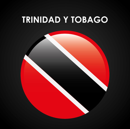 trinidad and tobago: trinidad and tobago emblem design, vector illustration eps10 graphic