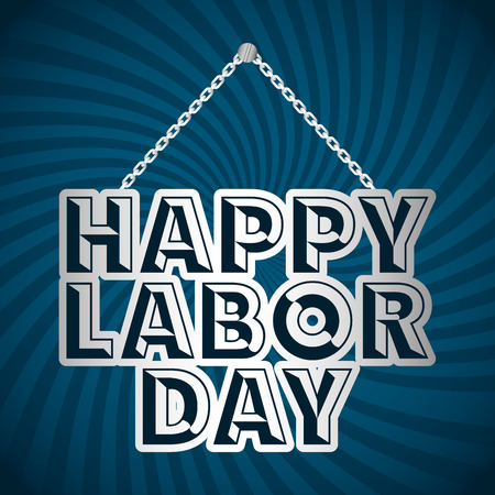 labour day: labor day design, vector illustration eps10 graphic Illustration