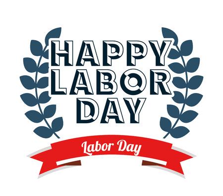 labor day design, vector illustration eps10 graphic Stock Illustratie