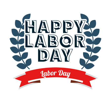 labor day design, vector illustration eps10 graphic Ilustrace