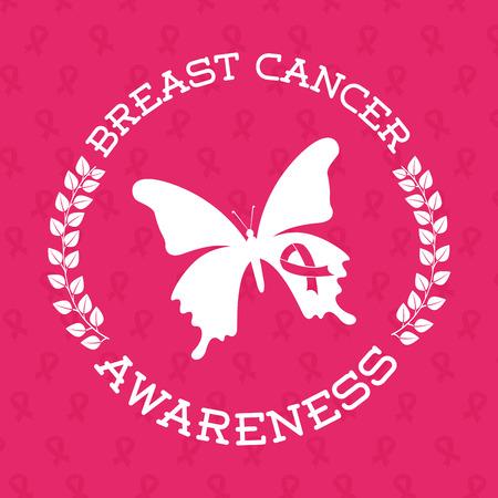 cancer: breast cancer design, vector illustration eps10 graphic