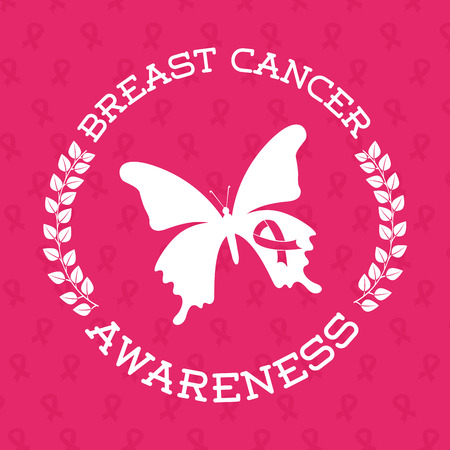rak: rak piersi projektowania, ilustracji wektorowych eps10 grafiki
