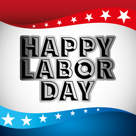 labor day design, vector illustration eps10 graphic Illustration
