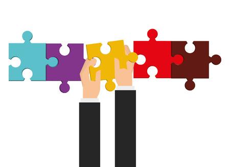 teamwork concept ontwerp, vector illustratie eps10 grafische