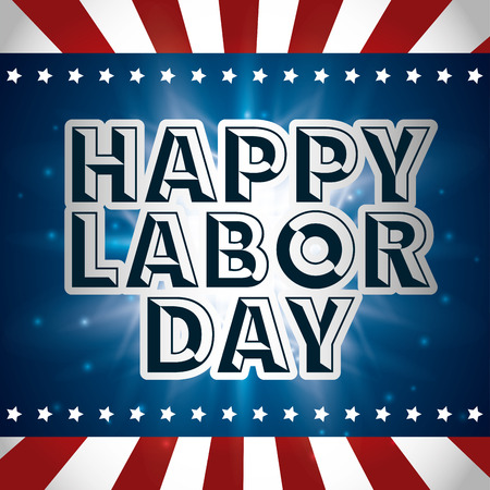 day to day: labor day design, vector illustration eps10 graphic Illustration