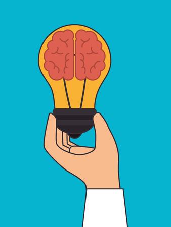 mentality: Big idea design, vector illustration eps 10.