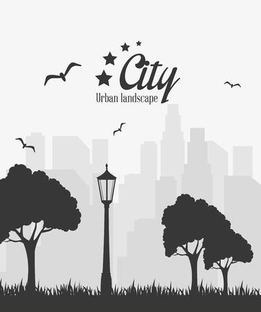 metropolitan: City urban design, vector illustration eps 10.