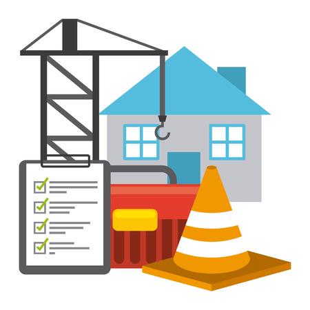 under construction design, vector illustration eps10 graphic Illustration