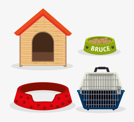 pet store: Pet digital design, vector illustration eps 10.