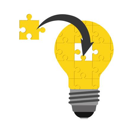 electrical part: bulb light design, vector illustration eps10 graphic