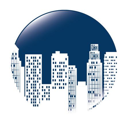 Urban city design, vector illustration eps 10.