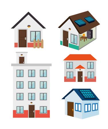 hometown: Real estate design, vector illustration eps 10. Illustration
