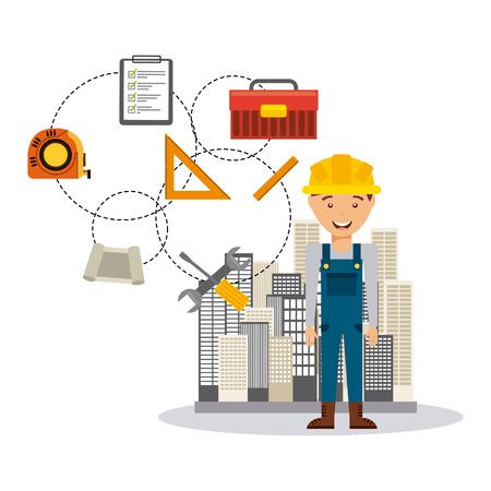 under construction icon: under construction design, vector illustration eps10 graphic Illustration