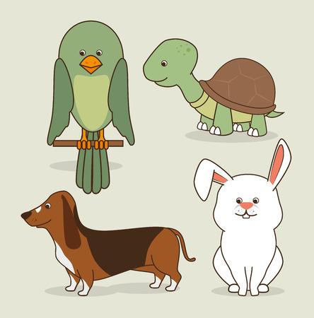 hapiness: Pet digital design, vector illustration eps 10.
