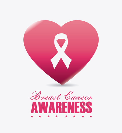 cancer symbol: Breast cancer design, vector illustration eps 10.