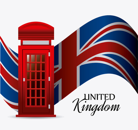 european culture: UK london design, vector illustration eps 10.