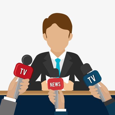 journalism: Journalism design, vector illustration eps 10.