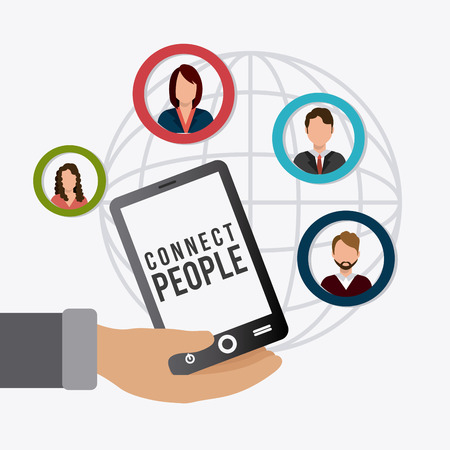 connect people: