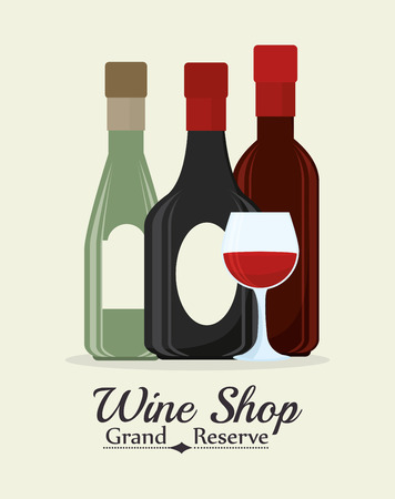 nutriments: Wine digital design, vector illustration eps 10.