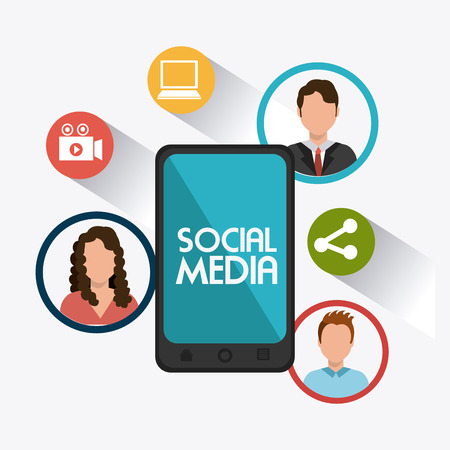 Social media design, vector illustration eps 10.